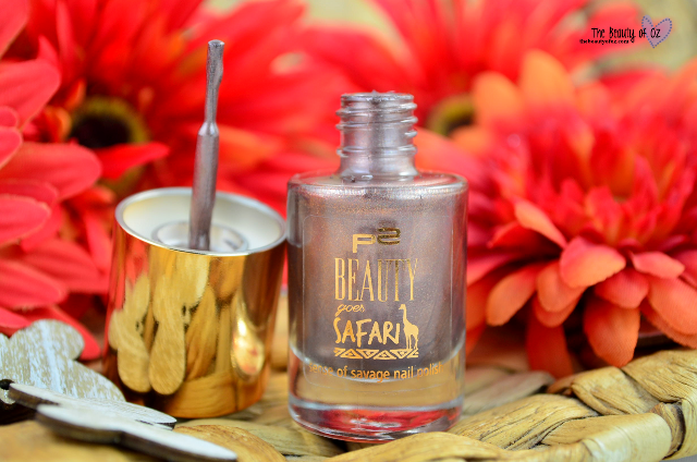 Review p2 Beauty Goes Safari Sense Of Savage Nailpolish