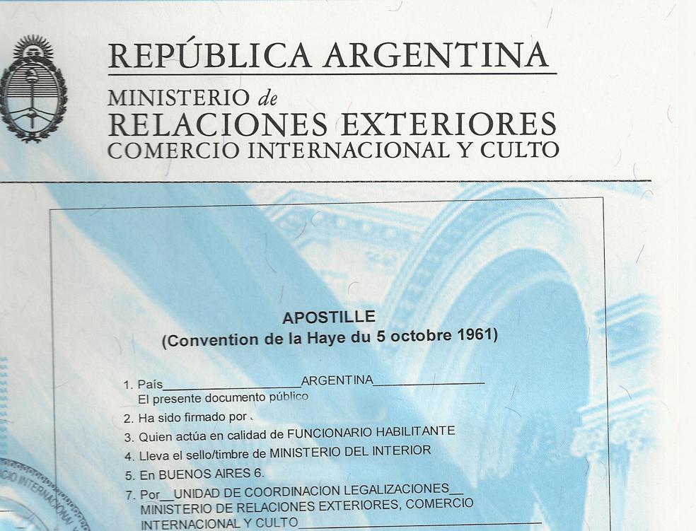 Travel betty ojeda certifico firmas y copias gratis for Ministerio del interior argentina