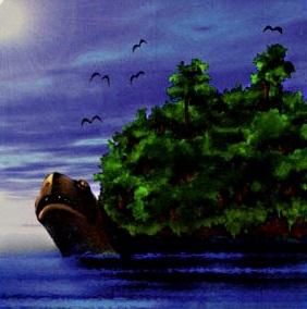 Native American Turtle Island Waking Up on Turtle Is...