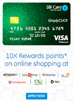 SBI : Get 10X Rewards points on online shopping