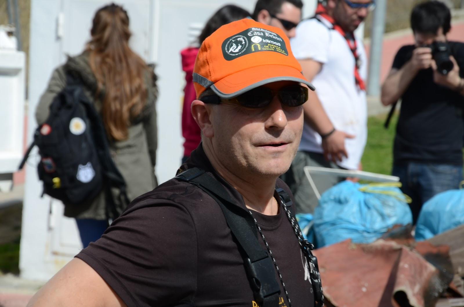 Jose Antonio Lopez, presidente del club de pescadores Peña de la Cruz