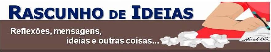 RASCUNHO DE IDEIAS