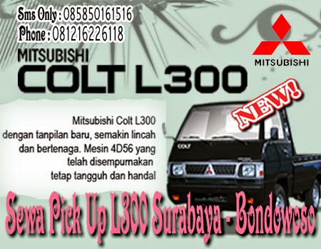 Sewa Pick Up L300 Surabaya - Bondowoso