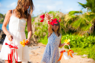 maui weddings, maui wedding planners, maui flower girls
