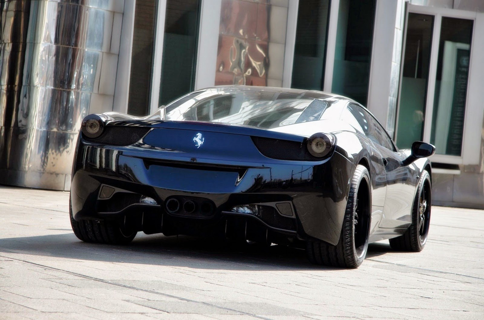Ferrari 458 Balck Car Wallpapers,Images,pics,photos
