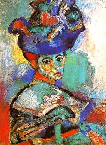 Mujer con sombrero, 1905
