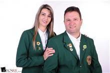 Presidente CaL Yuka Barbiero e CL Clayton Barbiero