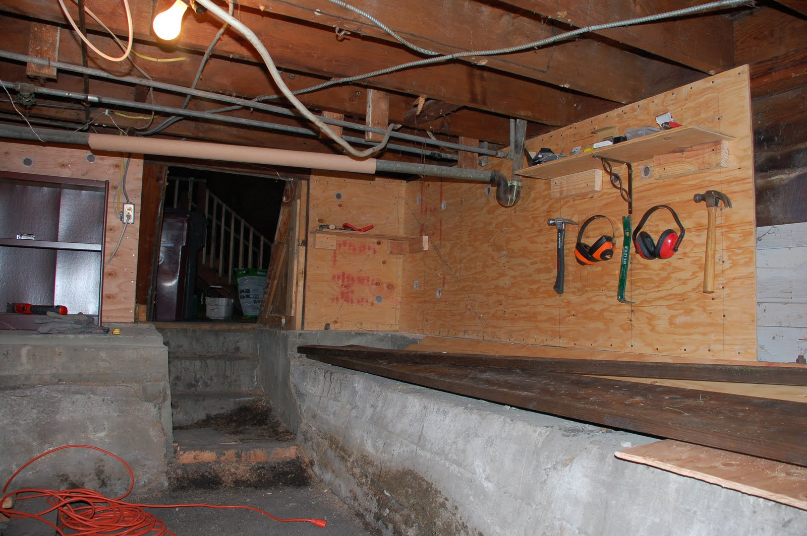 finally after months of hard work our basement retrofit was finished