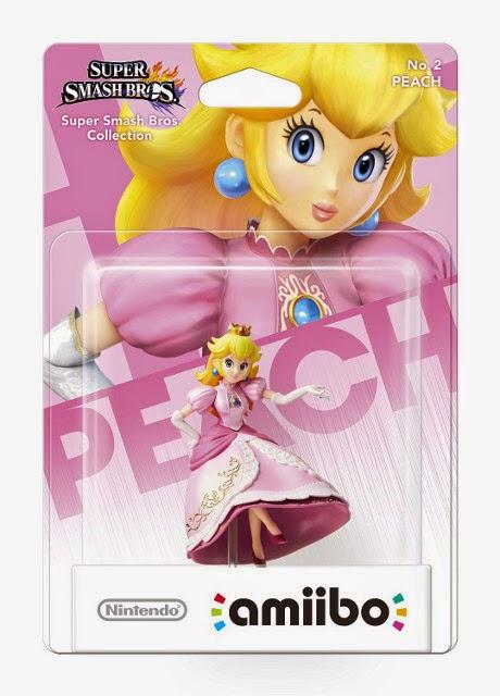 JUGUETES - NINTENDO Amiibo - 2 : Figura Peach   (28 noviembre 2014) | Videojuegos | Muñeco