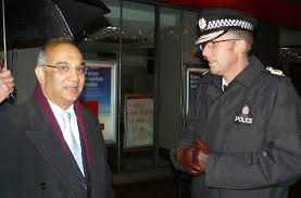 MP Keith Vaz & Simon Cole Leicestershire Police Chief