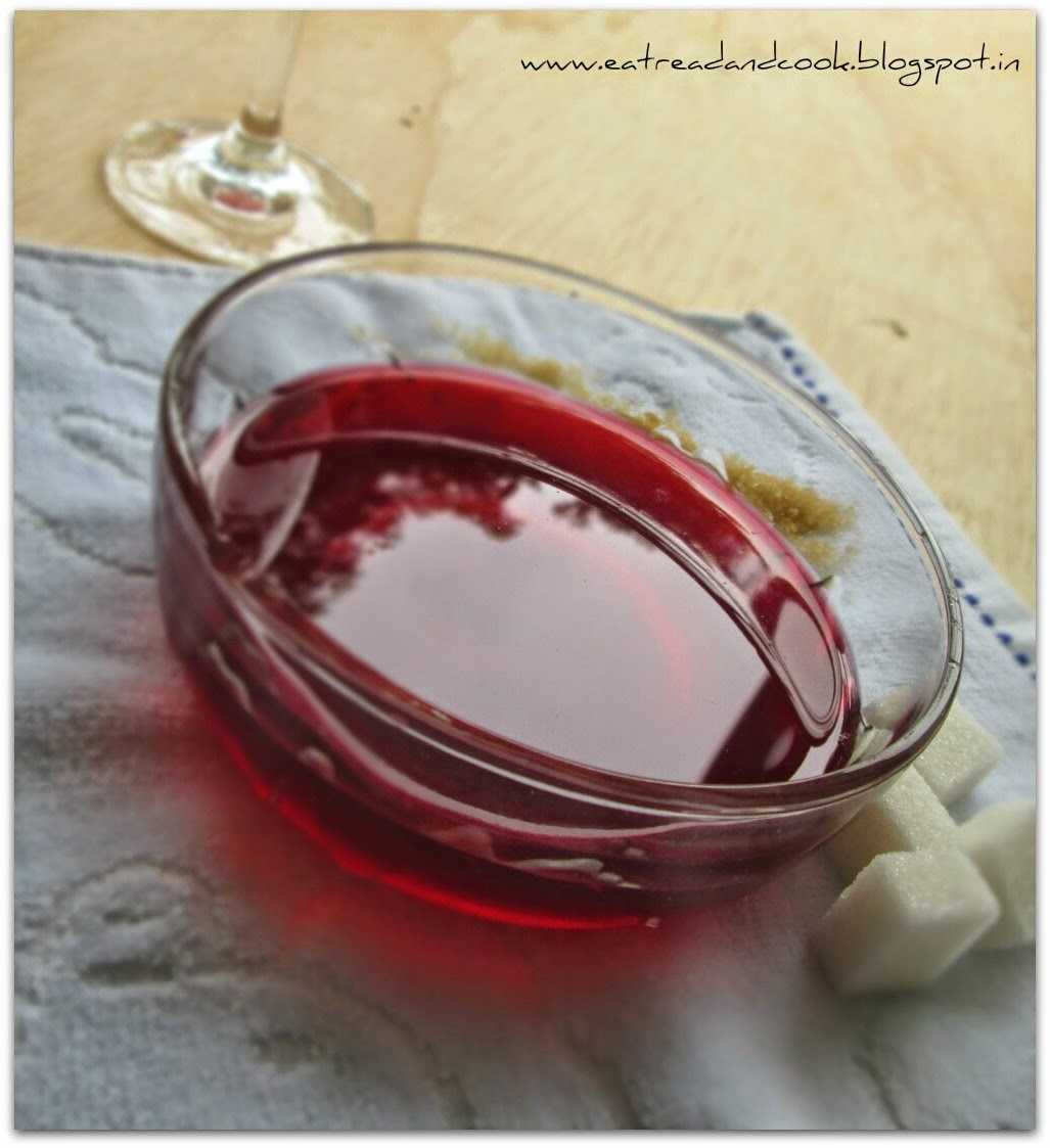 how to make rose water syrup