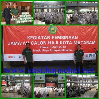 SUSU HAJI SEHAT di Kota Mataram NTB