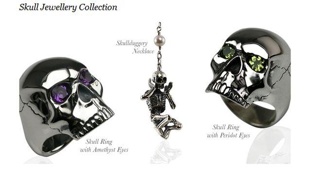 Men's Skull jewellery