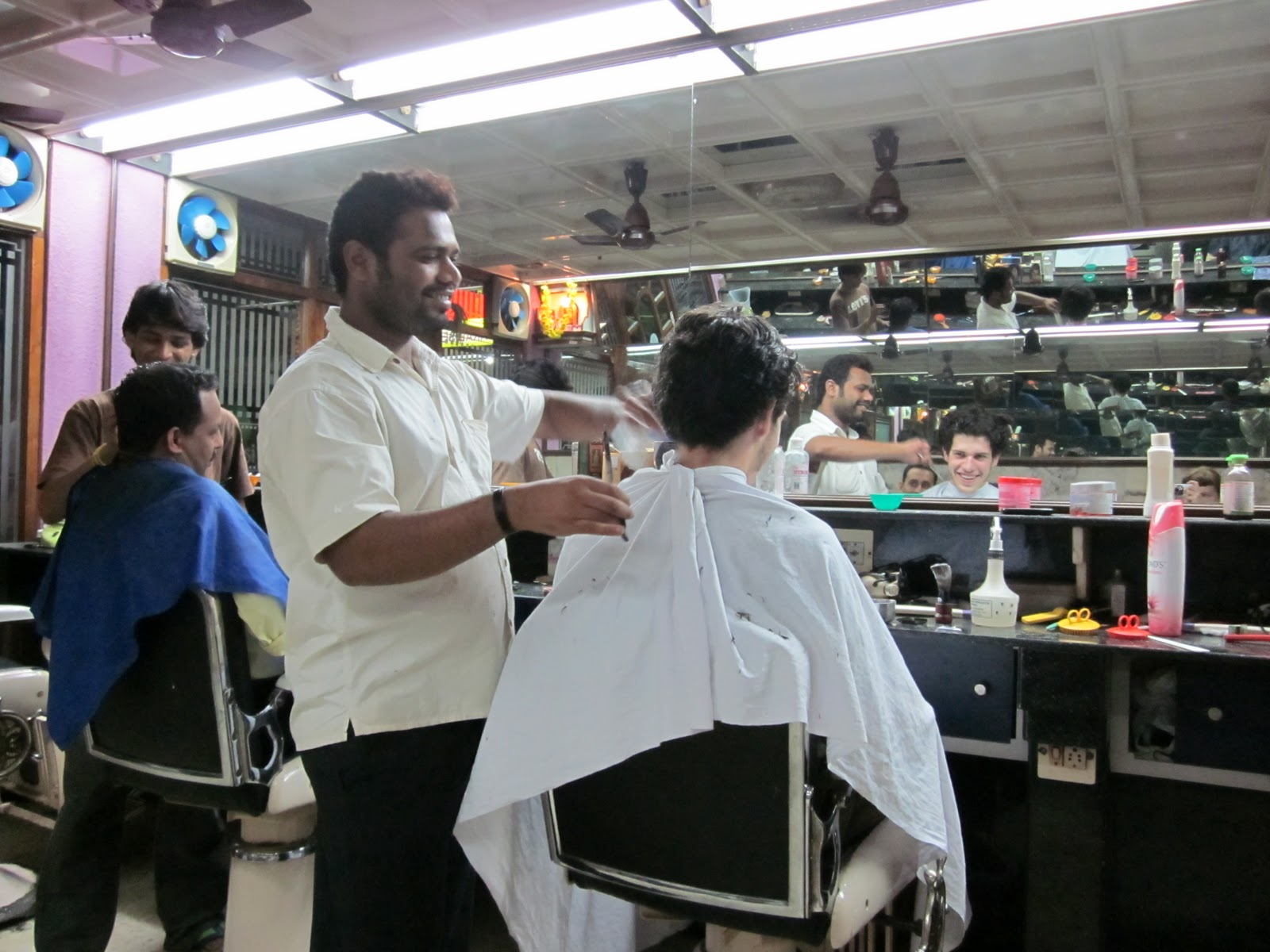 Barber And Shave Shoppe : Max Holden: from a shave in karkala to a scam in mysore