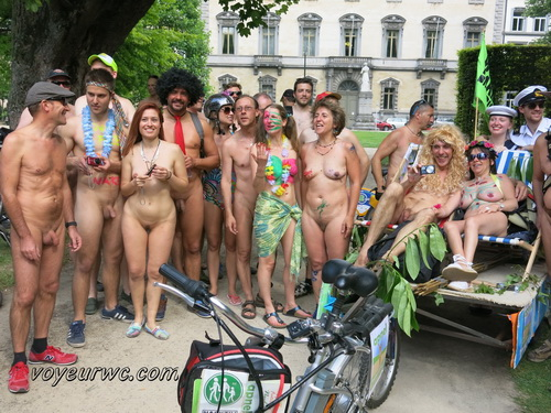 Naked Bike Ride: London & Canterbury (Photos and Videos)