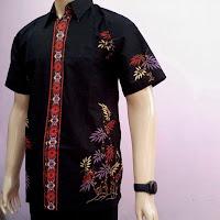 Kemeja Batik Pria Modern