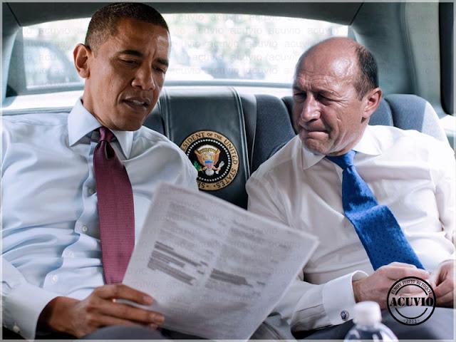 Funny image Barack Obama Traian Băsescu Scenarii