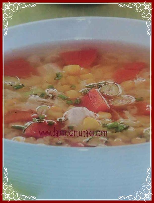 Sup Jagung Serabut