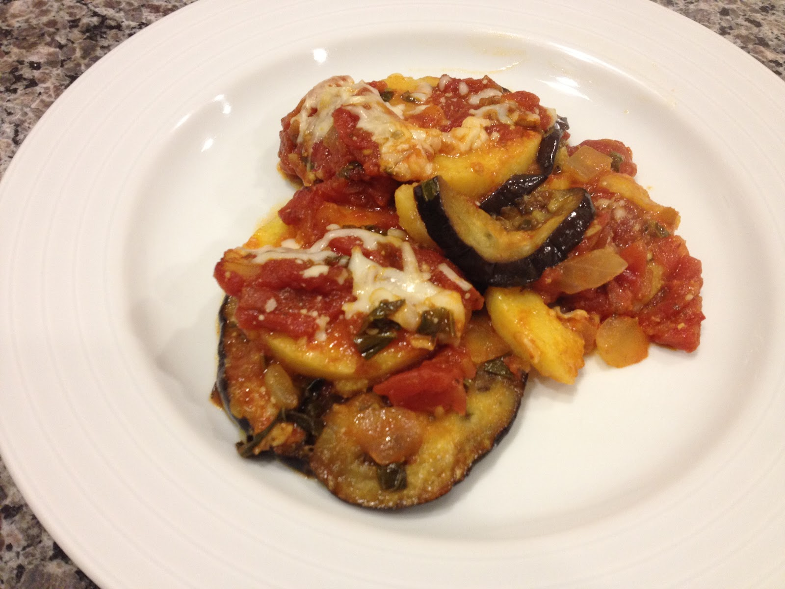 polenta casserole recipes dishmaps layered eggplant and polenta ...