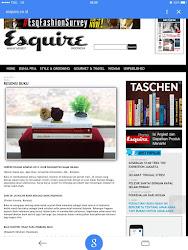 Resensi buku di Majalah Esquire