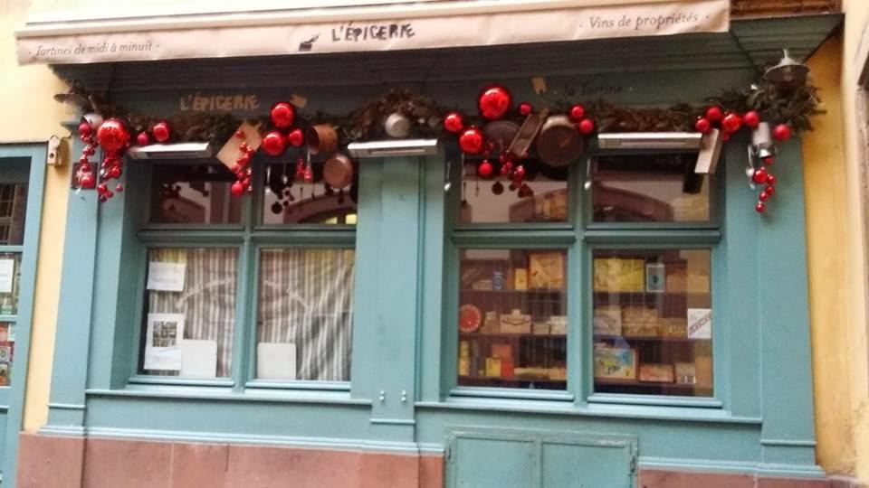 At The Grocer, Chez l'Épicier, L'Épicerie: de la Iulia Motoc, Strasbourg 25 dec 2013