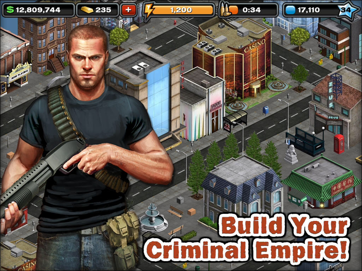 Crime City HD App iTunes App By Funzio, Inc - FreeApps.ws