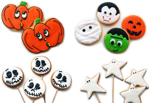 Monstruos de halloweeen