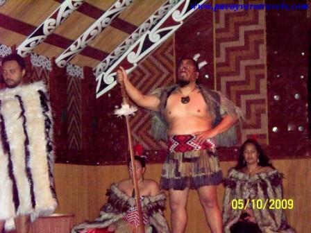 Te Puia Nueva Zelanda Espectaculo cultural Maori