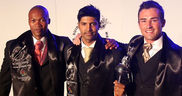 Mister South Africa 2012 winner Andrew Govender