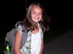 Shannon - first day of school 7th grade
