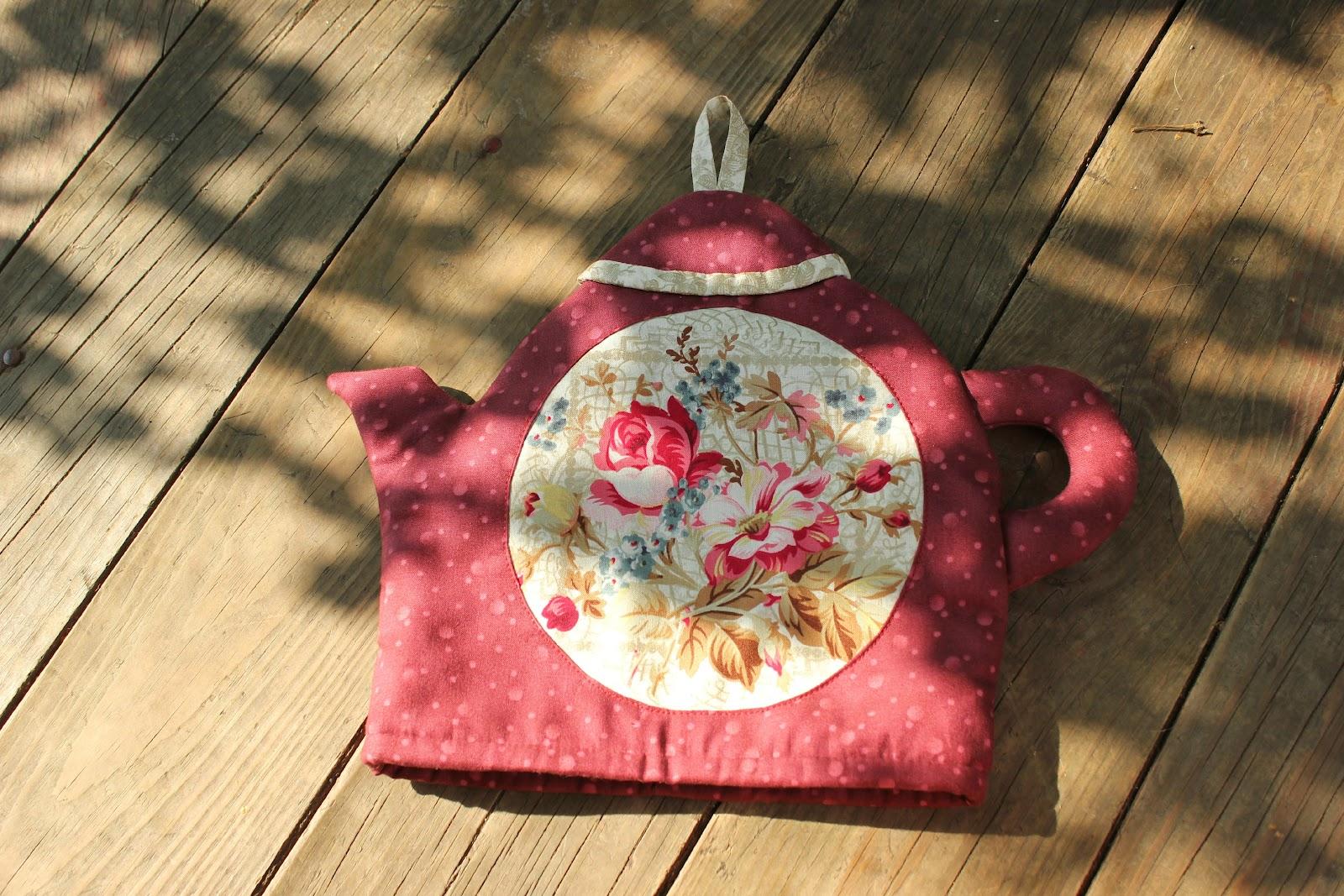 Грелка на чайник своими руками - елка