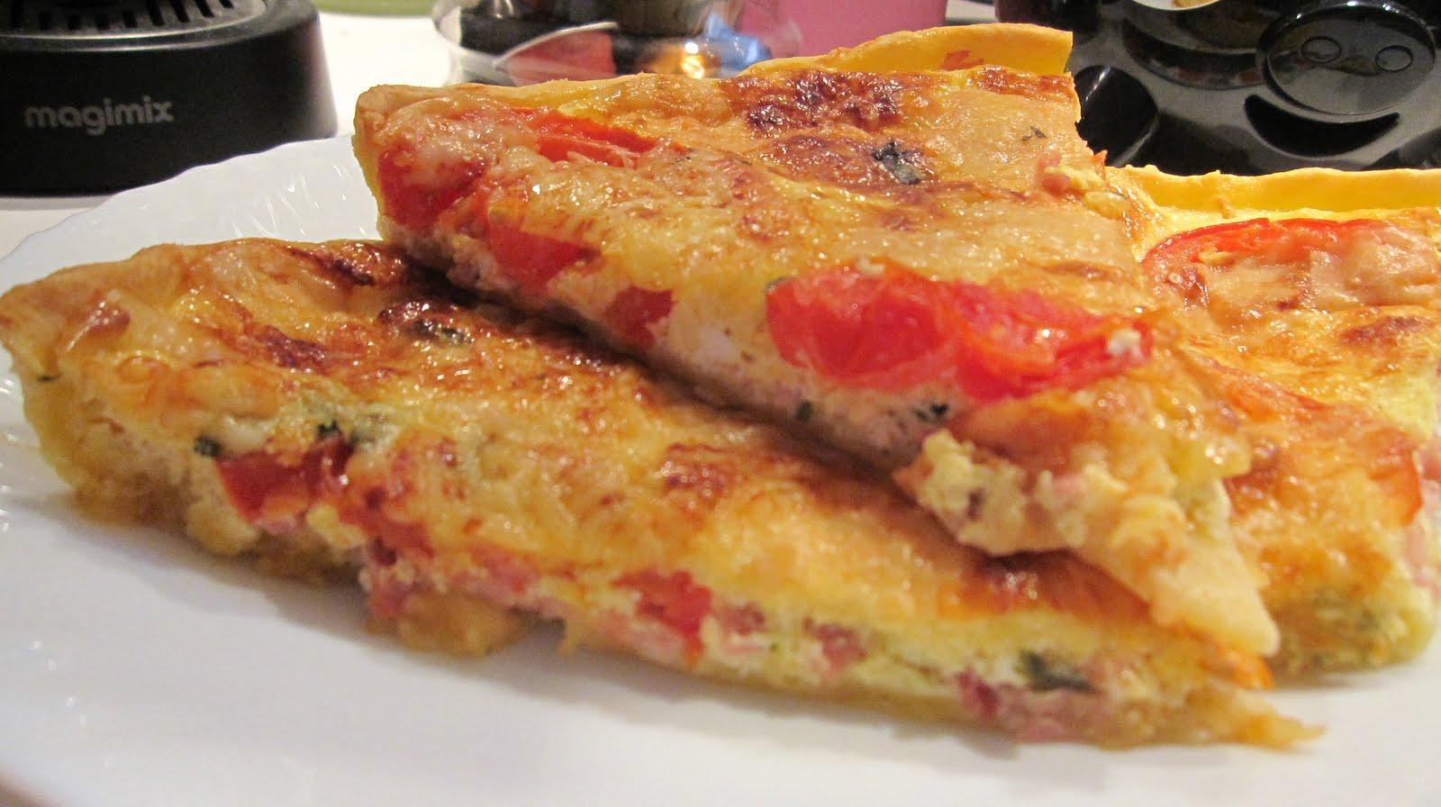 Les recettes de manu tarte toute simple la coriandre - Repas en amoureux simple ...