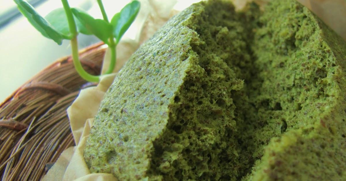 Low Carb Matcha Cake