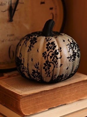 Halloween Pumpkins, Pinterest, Stocking Covered Pumpkin