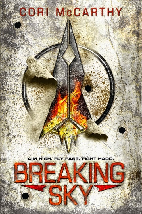 Breaking Sky by Cori McCarthy book cover