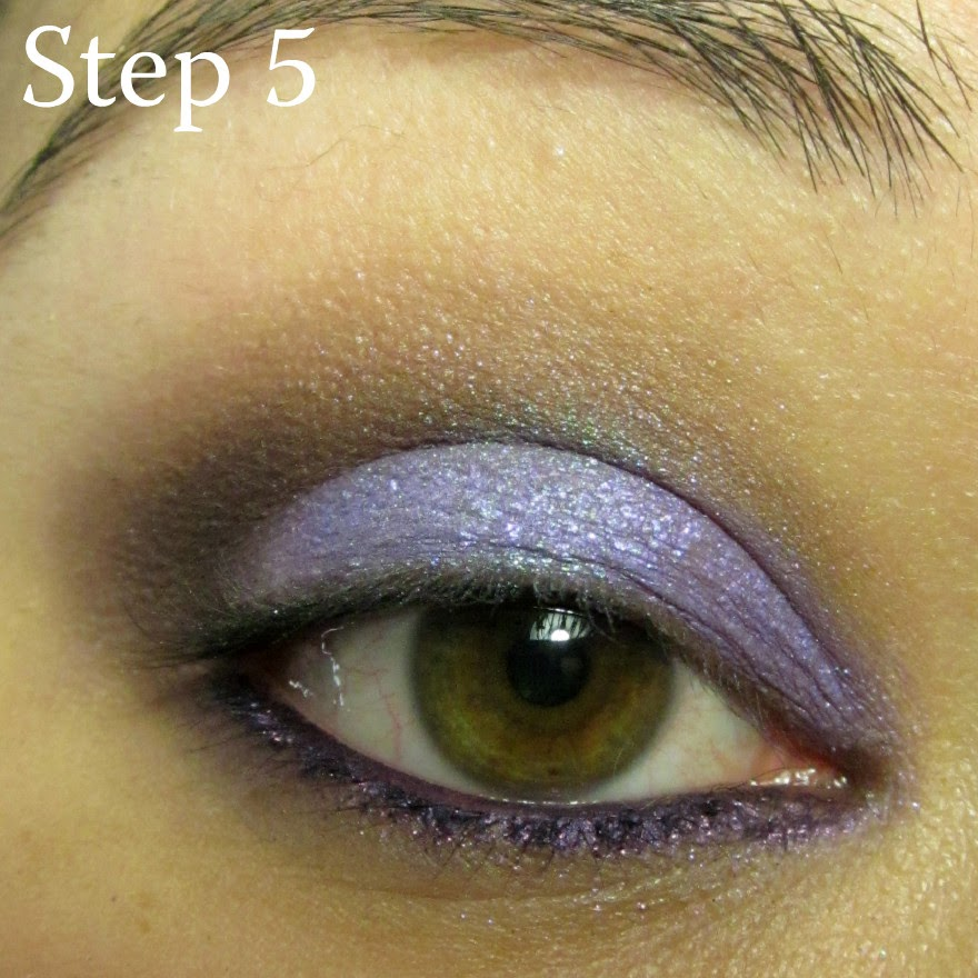 anna sui spring makeup tutorial using sugarpill lumi chromalust