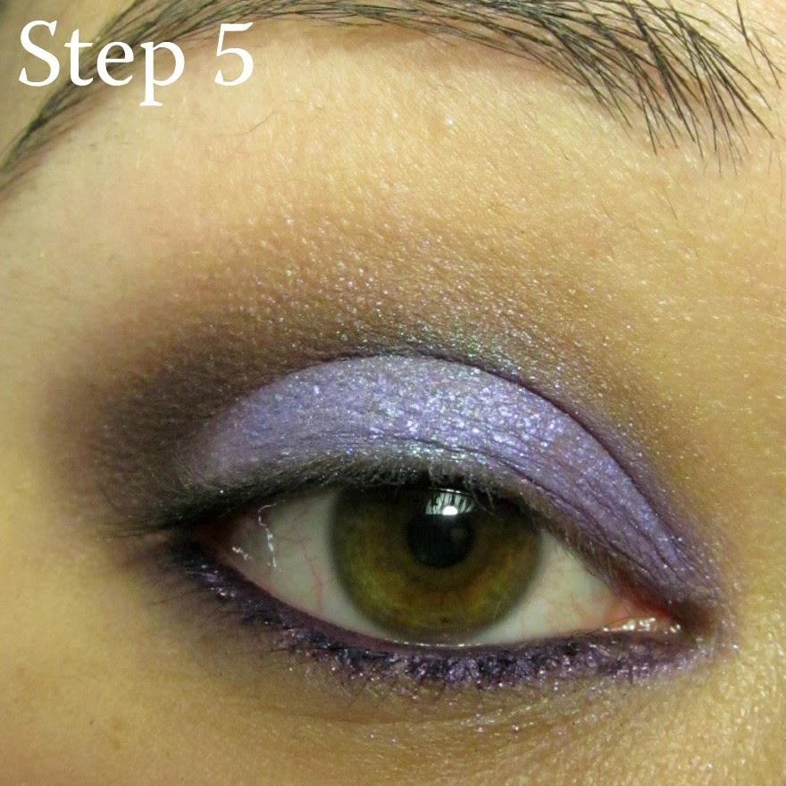 anna sui spring makeup tutorial using sugarpill lumi chromalust