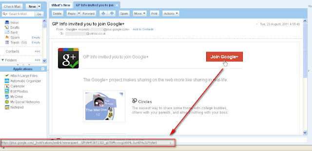 Google+ Valid Join Link