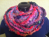 Crochet Cowl Pattern from Handspun Yarn