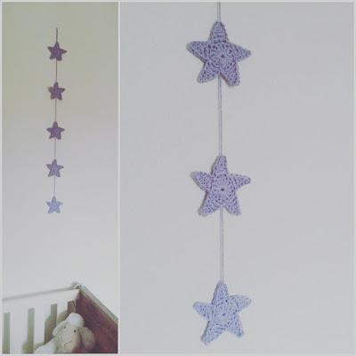guirlande étoile crochet tuto