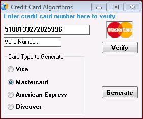 Card free generator numbers 56 credit