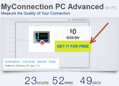 Free MyConnection PC Advanced giveaway