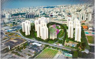 maior lançamento de São Paulo-Jardim de perdizes-terreno telefonica
