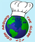 Cook Around the Globe Button