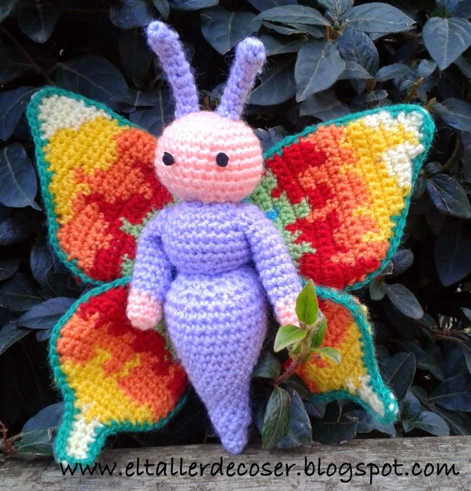 EL TALLER DE COSER: Patron mariposa