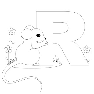 Alphabet Coloring Pages A Z