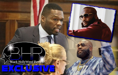 "Rapper 50 Cent Sues MMG Rapper Rick Ross For $2 Million For Sampling Hit Song ""In Da Club"" Without Permission"