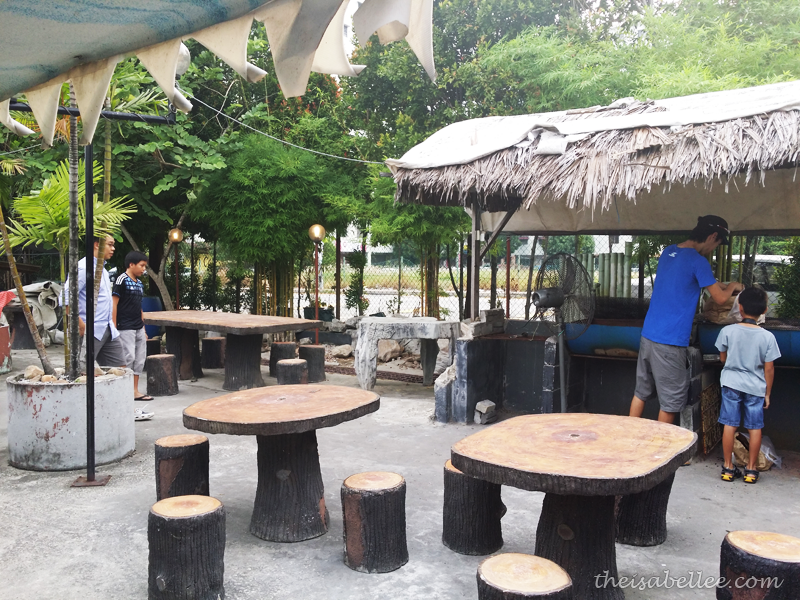 Picnic area at Tropicana Ebi Fishing
