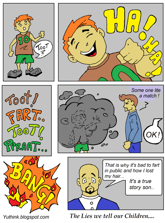 family funny fart joke comic cartoon