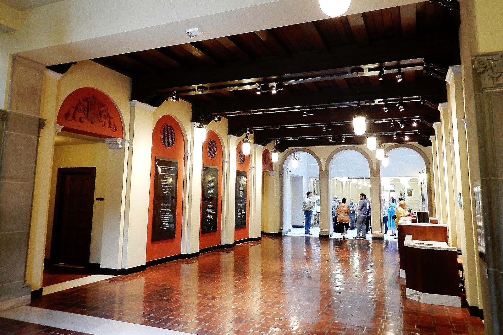 the julia ideson library dear polia the entrance hall of the julia ideson library houston texas